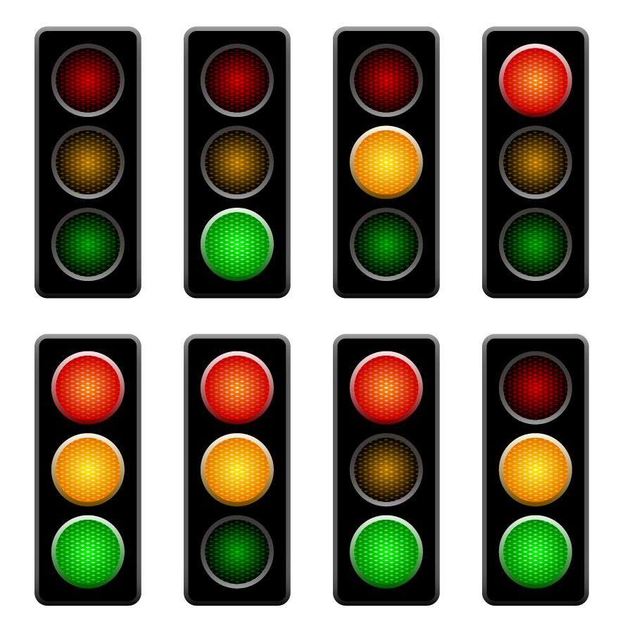 Traffic clipart robot Light  Download Template Light