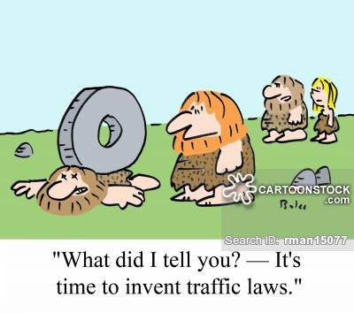 Traffic clipart rule law CartoonStock 6 of 1 pictures
