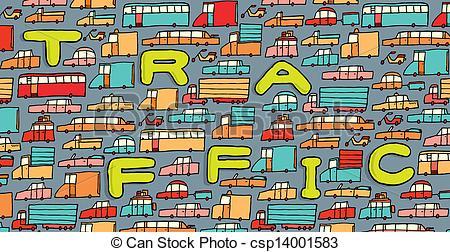Traffic clipart traffic car Search  traffic csp14001583 waiting
