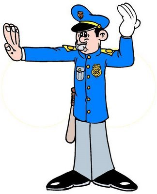 Traffic clipart traffic cop Traffic Pictures & cop Videos