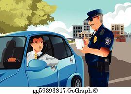 Traffic clipart traffic enforcer Officer Stock EPS Clipart traffic
