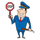 Traffic clipart traffic enforcer And Art police Royalty Officer