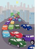 Traffic clipart traffic jam GoGraph Free Traffic Traffic jam