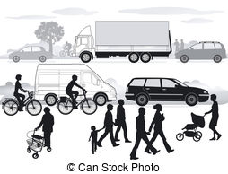 Traffic clipart traffic jam  Traffic Traffic Clipart congestion