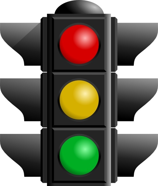 Traffic clipart traffic light In Free clip art Light