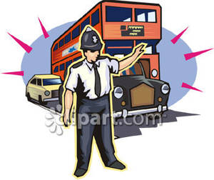 Traffic clipart traffic policeman #5