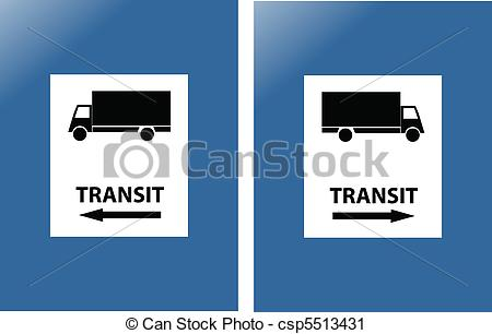 Traffic clipart transit Vector  Vector Search sign