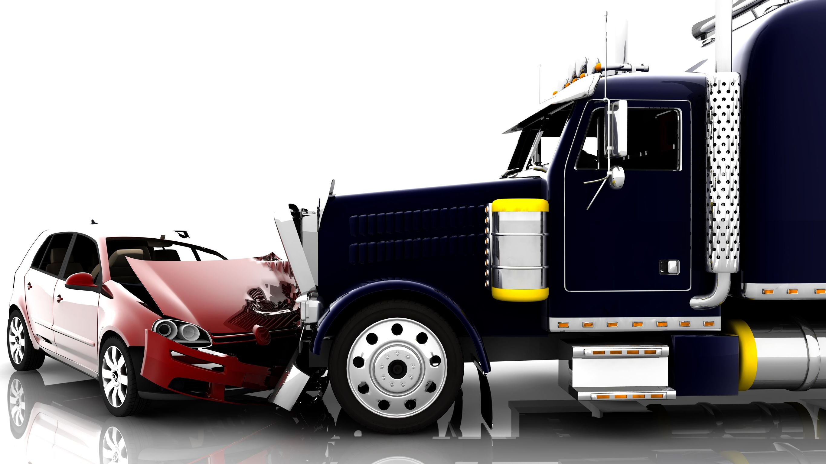 Traffic clipart truck accident #8
