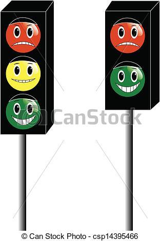 Traffic Light clipart cartoon Light of of Illustration Illustration