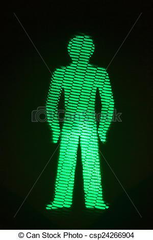 Traffic Light clipart green man Man pedestrian  traffic photo