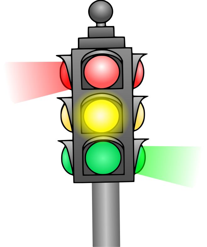 Traffic Light clipart intersection Traffic best images transport/signalisation 407