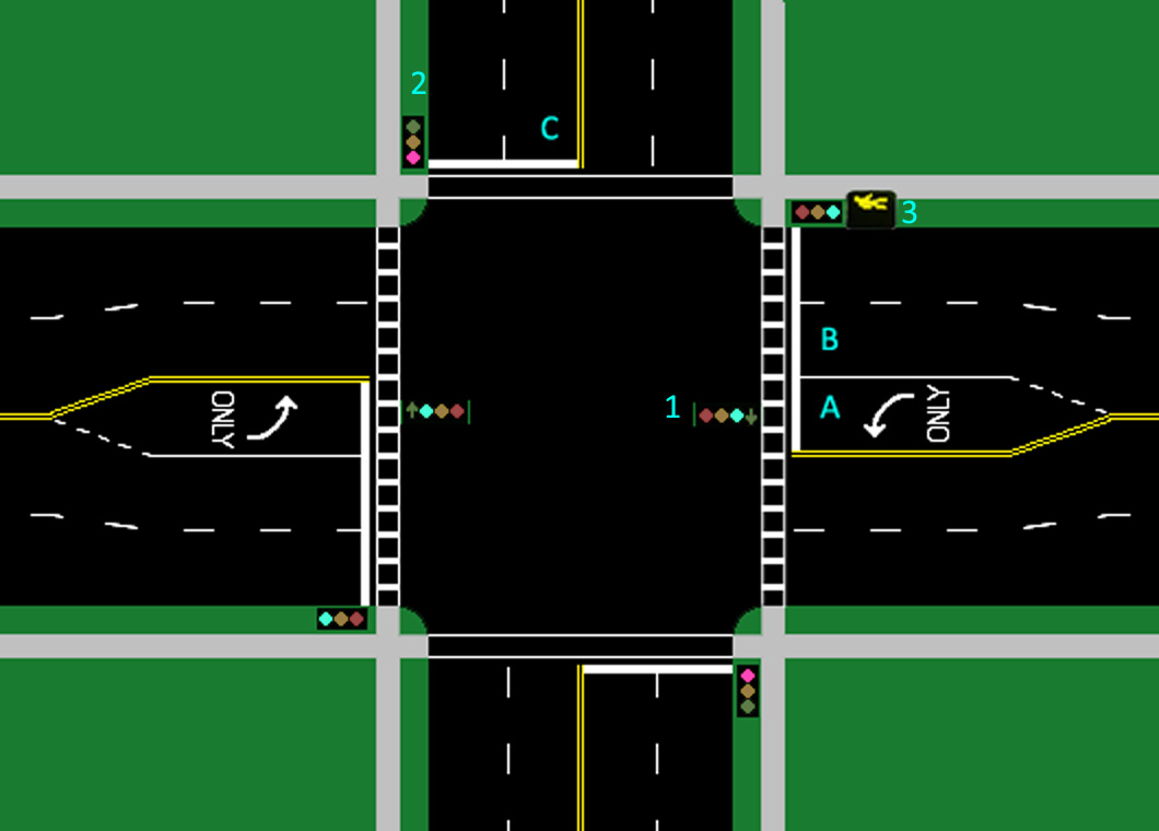 Traffic Light clipart intersection Street from Wikipedia Carson on
