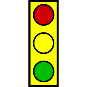 Traffic Light clipart powerpoint A stop office green free