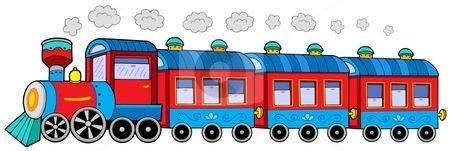 Train clipart #7