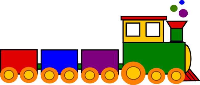 Locomotive clipart long train Clip the clipartcow Cliparting art