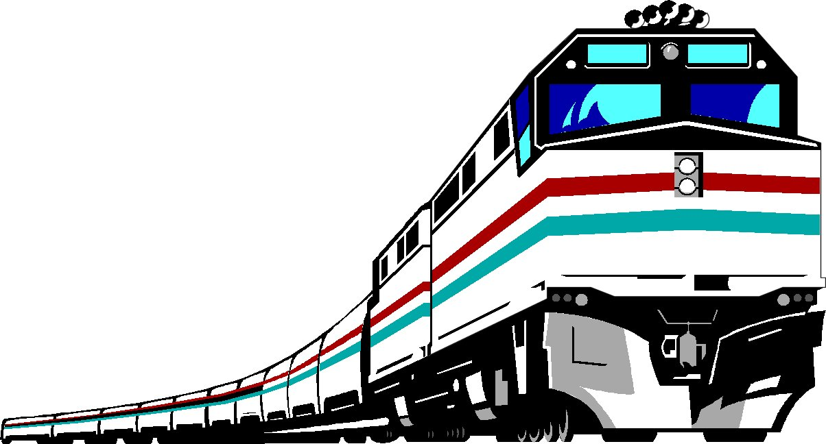 Train clipart #12