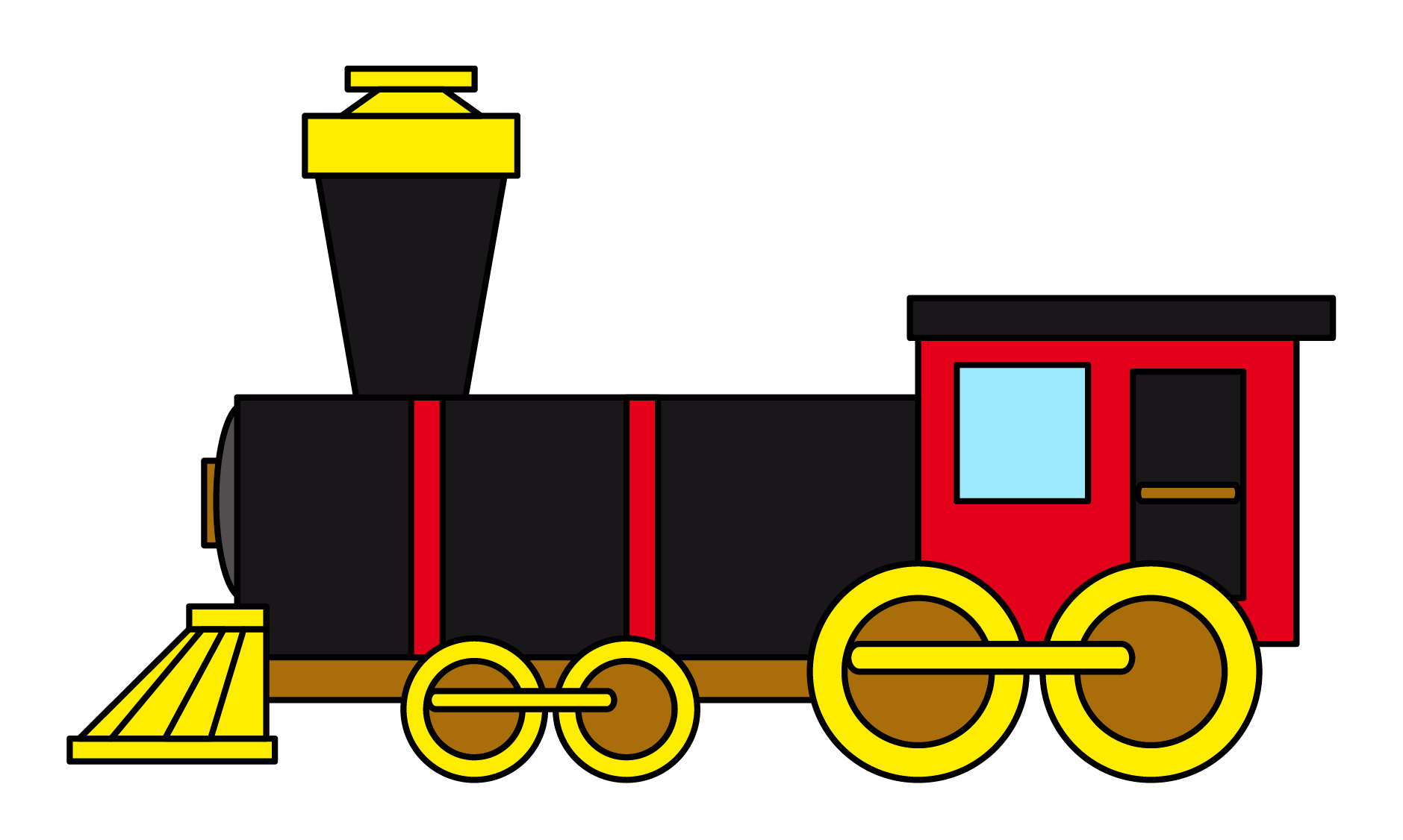 Stop clipart railroad Clipartix Train use Train to