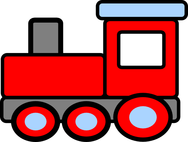 Train clipart #9