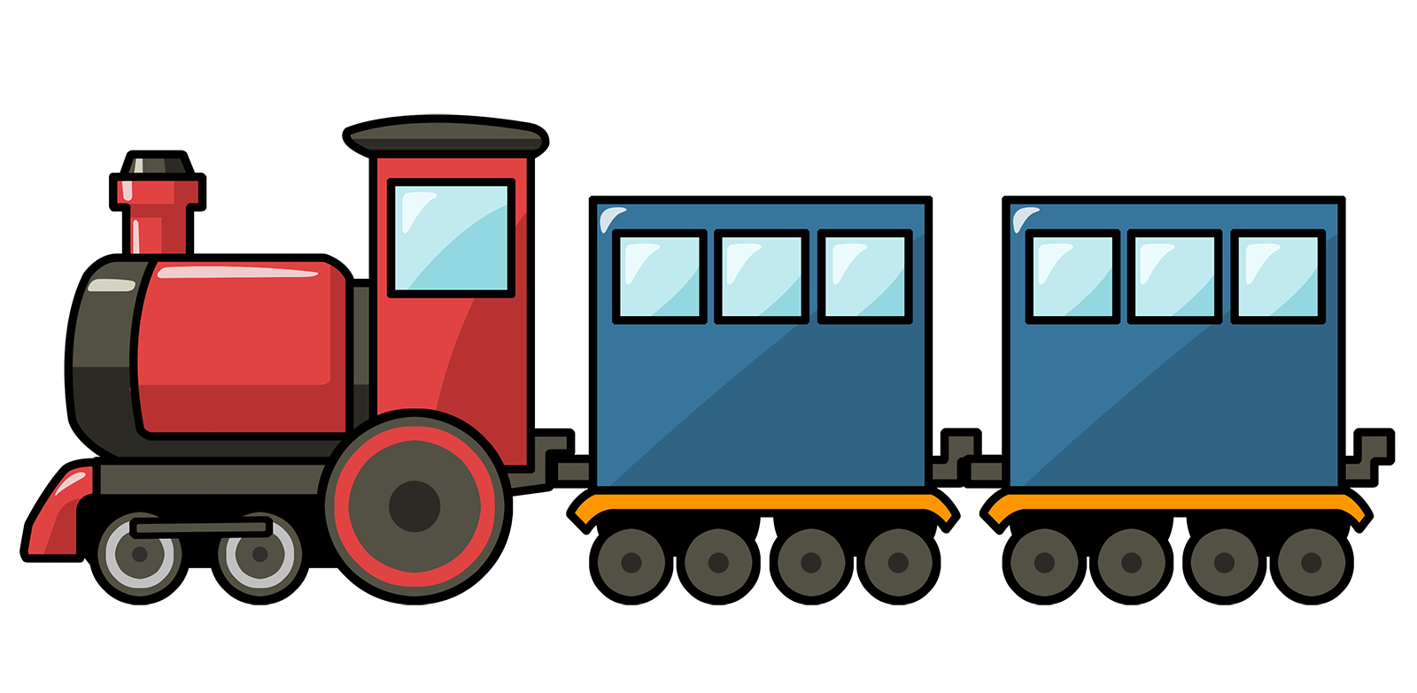 Railways clipart cartoon #7