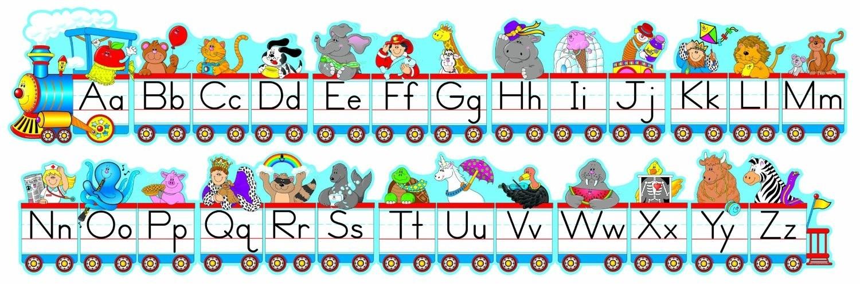 Train clipart alphabet #12