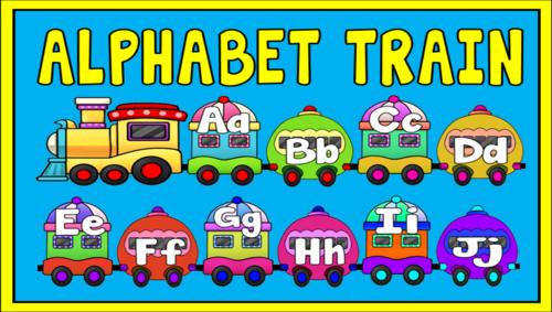 Train clipart alphabet #13