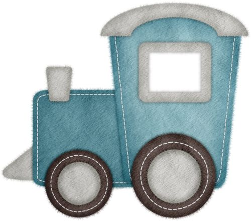 Train clipart baby boy #8