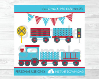 Train clipart baby shower #10