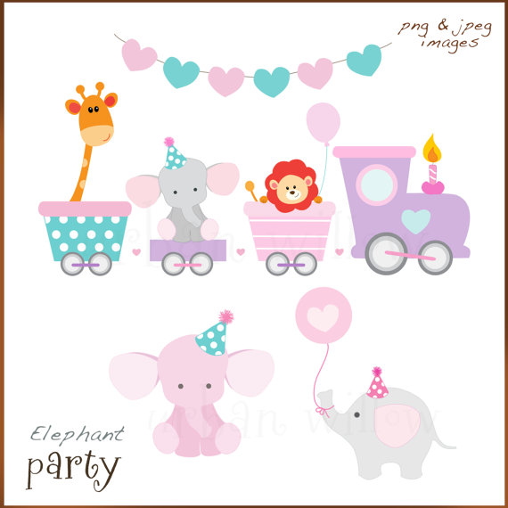 Train clipart baby shower #8