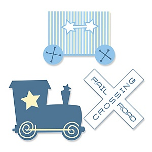 Train clipart baby shower #11