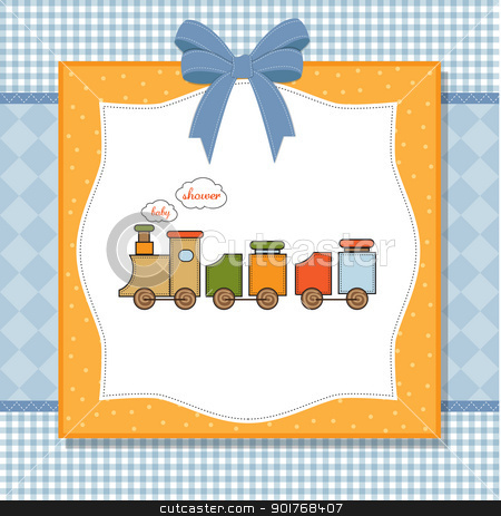 Train clipart baby shower #2