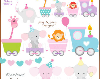 Train clipart baby shower #4