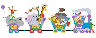 Train clipart children's #3