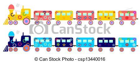 Train clipart children's #2