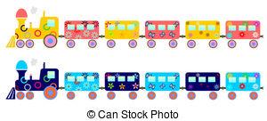 Train clipart children's #5