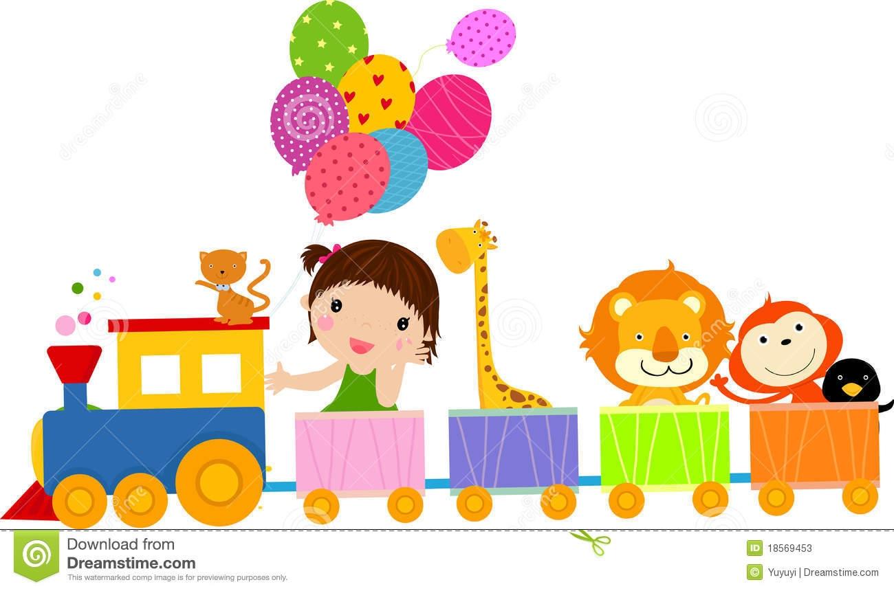 Train clipart cute #14