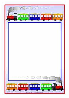 Train clipart frame #6