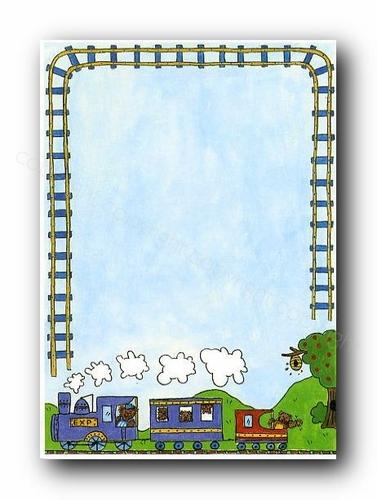 Train clipart frame #9