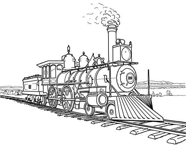 Drawn railroad kid train REVOLUTION Pinterest Railroad on Locomotoras