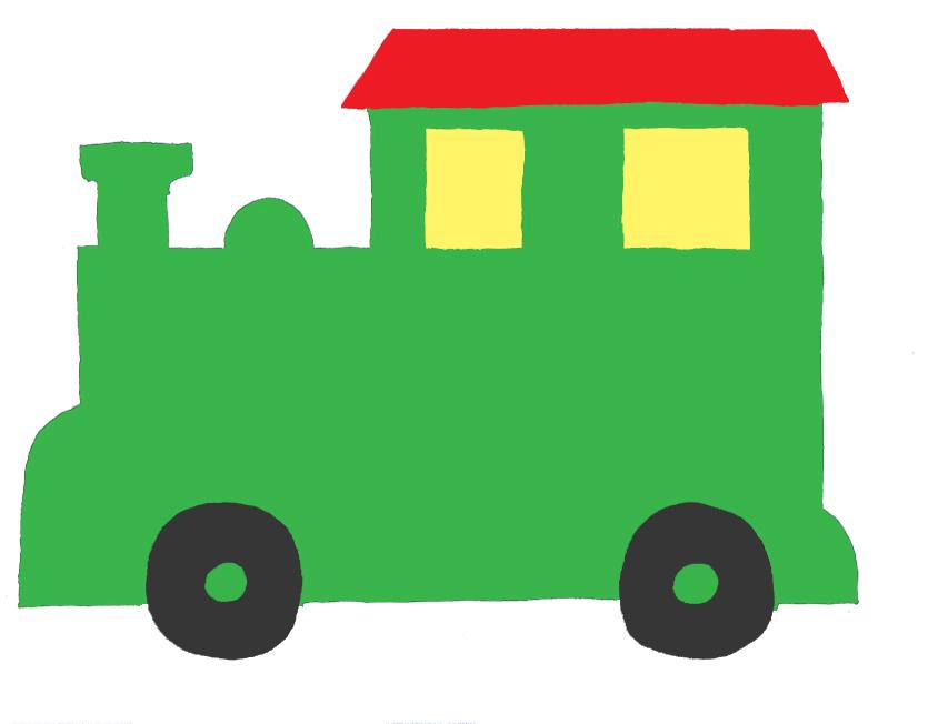 Train clipart template #14