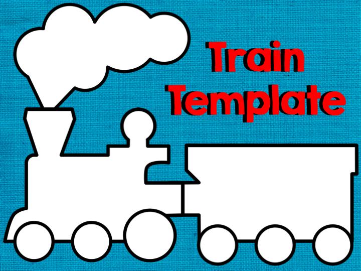 Train clipart template #5