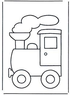 Train clipart template #8