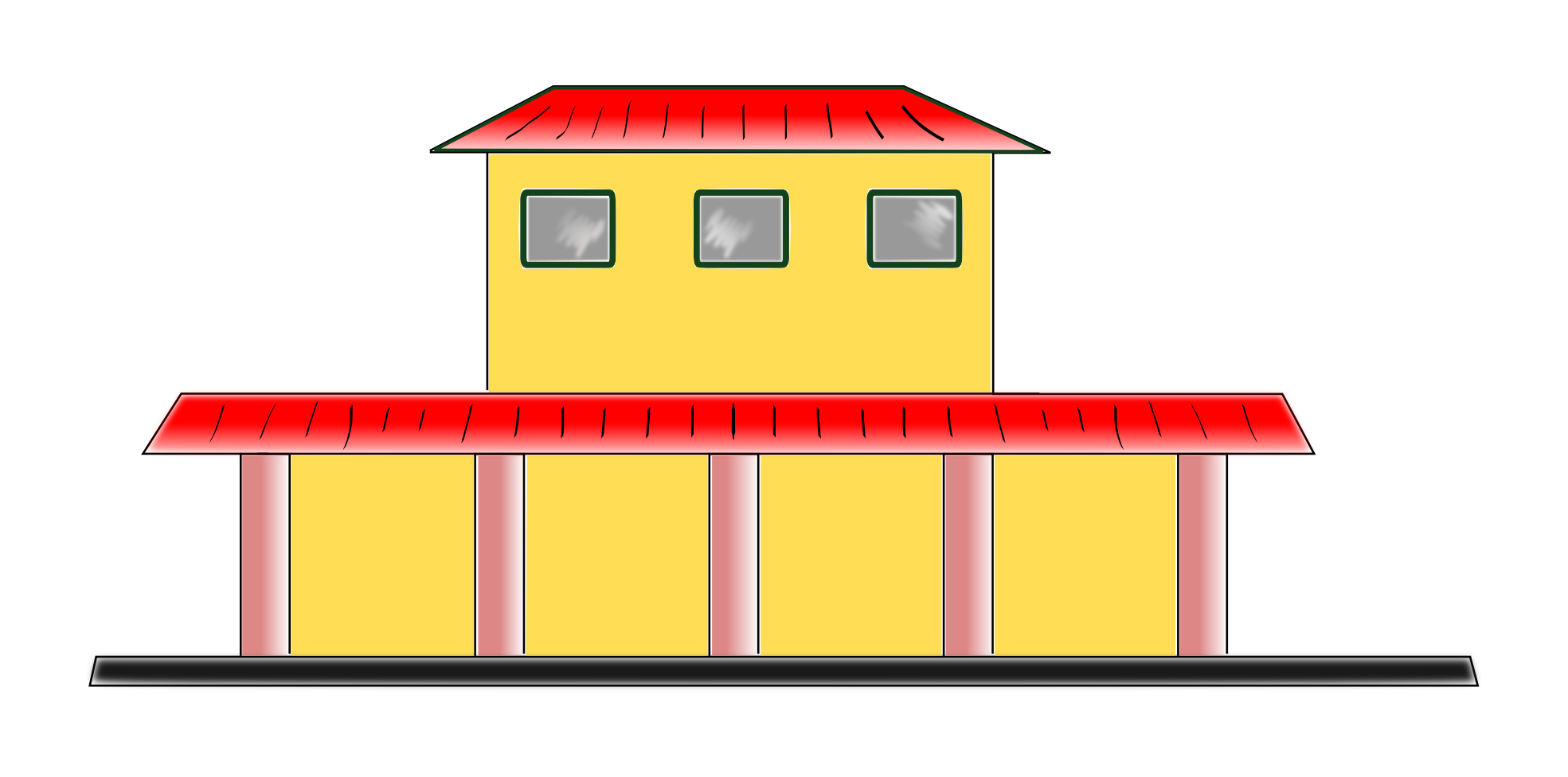 Train Station clipart train stop Clipart Clipart Train Station Panda