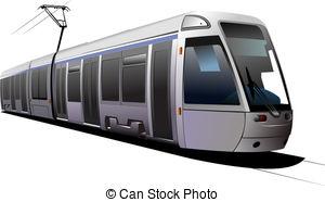 Tram clipart subway train 6 and Tram illustration Clip