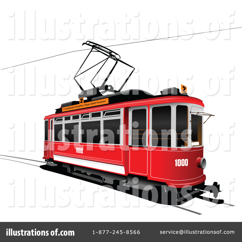 Tram clipart Illustration #228673 by leonid Royalty