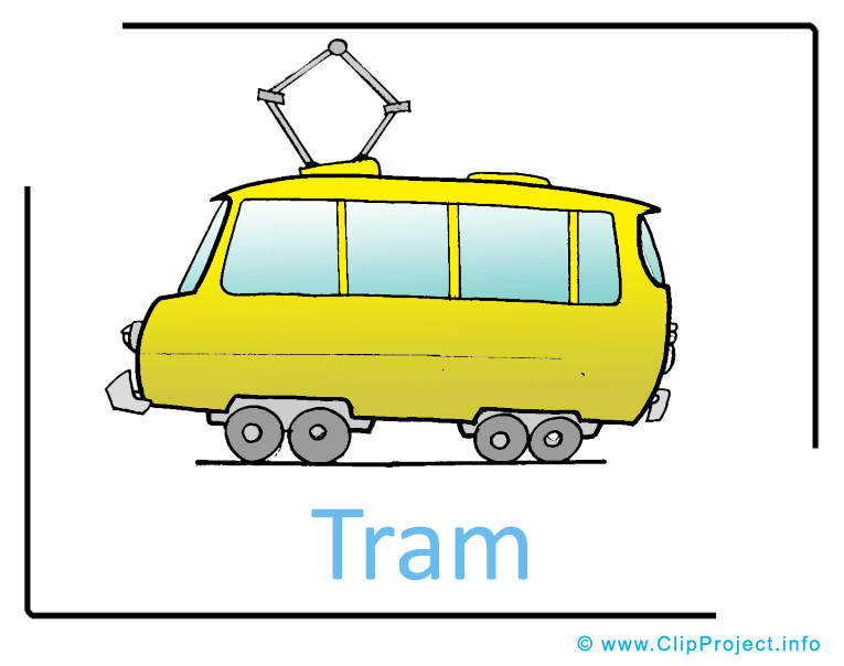 Tram clipart cartoon  Pictures Picture Transportation free