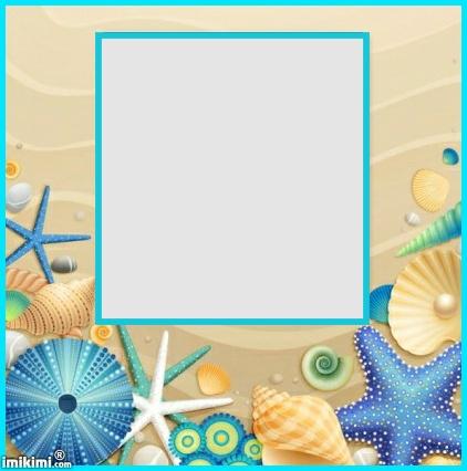 Tranquil clipart beach frame #3