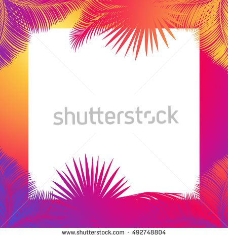 Tranquil clipart beach frame #7