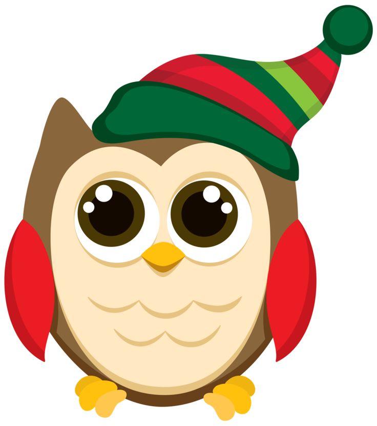Owlet clipart winter OWL 444 best Pinterest Owls♡