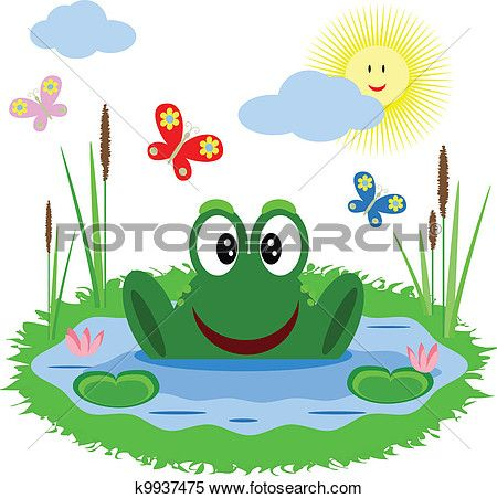 Tranquility clipart feliz Of Search Free pond in