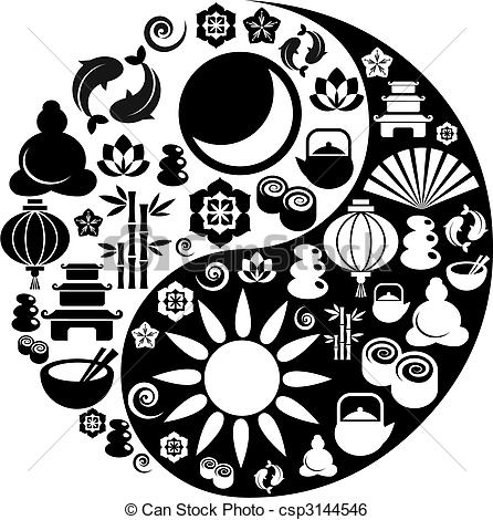 Zen clipart Vector and made Zen Clip